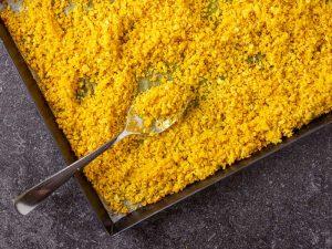 Roasted Cauliflower Rice, Рис из Цветной Капусты, low carb recipes, низкоуглеводные рецепты