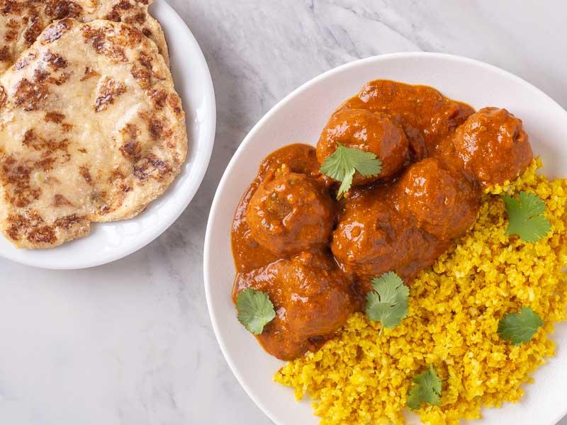 Turkey Meatball Curry, Фрикадельки из Индейки в Соусе Карри