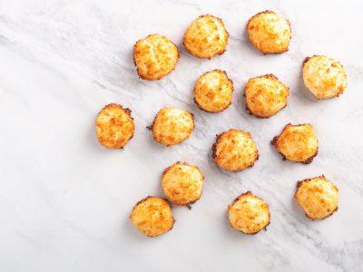 кокосовое печенье, кето десерты, низкоуглеводная выпечка