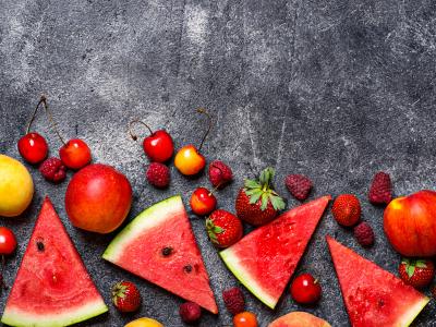 ягоды и фрукты на кето, кето гид, инфоргафика