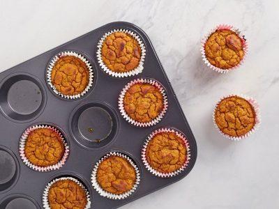 тыквенные маффины, pumpkin muffins, кето выпечка, низкоуглеводные десерты