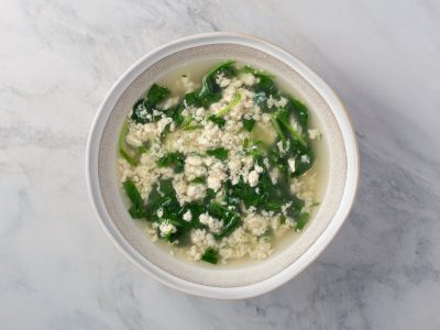 Итальянский суп страчателла