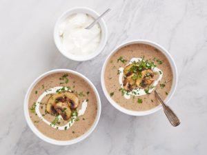 Грибной Крем Суп, cream of mushroom soup
