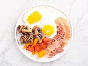 английский кето завтрак